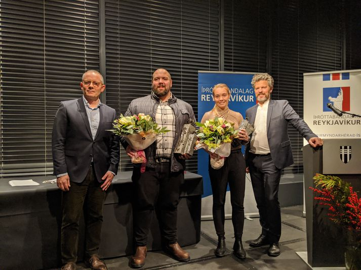 Íþróttafólk Reykjavíkur 2019, Júlían og Margrét Lára.