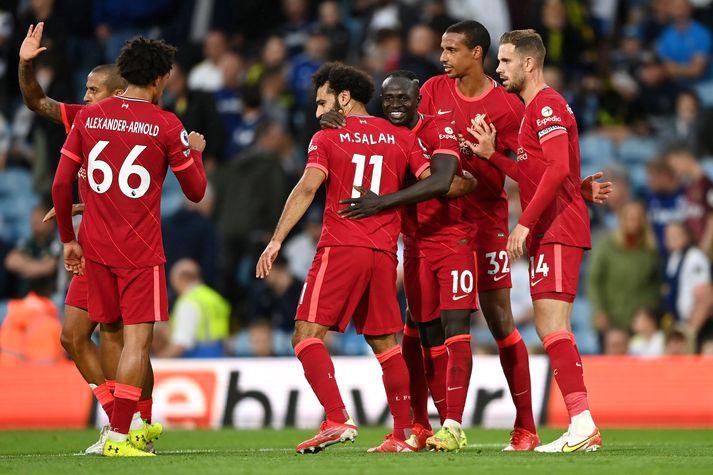 Liverpool tekur á móti AC Milan í Meistaradeild Evrópu í kvöld.