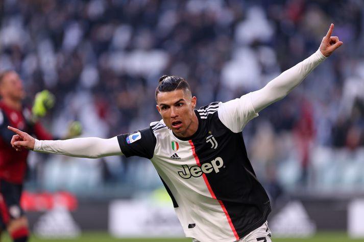 Ronaldo og félagar sækja Rómverja heim í kvöld.