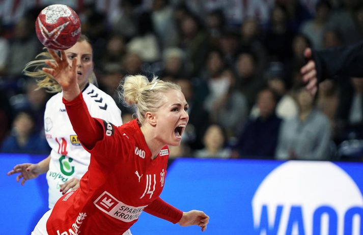 Danska landsliðskonan Lotte Grigel er í liði Nantes sem er í 3. sæti frönsku deildarinnar.