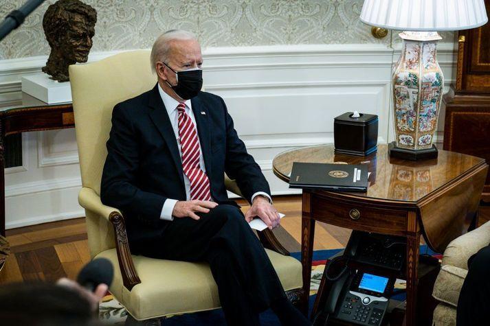Joe Biden Bandaríkjaforseti hefur sagst ætla að leggja mikla áherslu á loftslagsmál í valdatíð sinni.