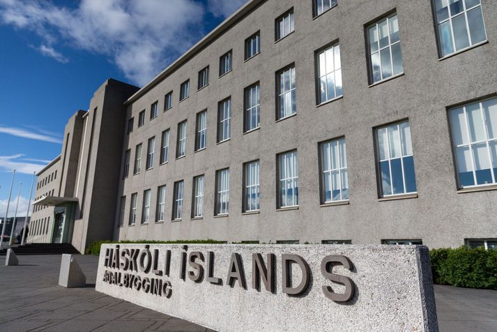 Aðalbygging Háskóla Íslands. Málþingið hefst klukkan 13.