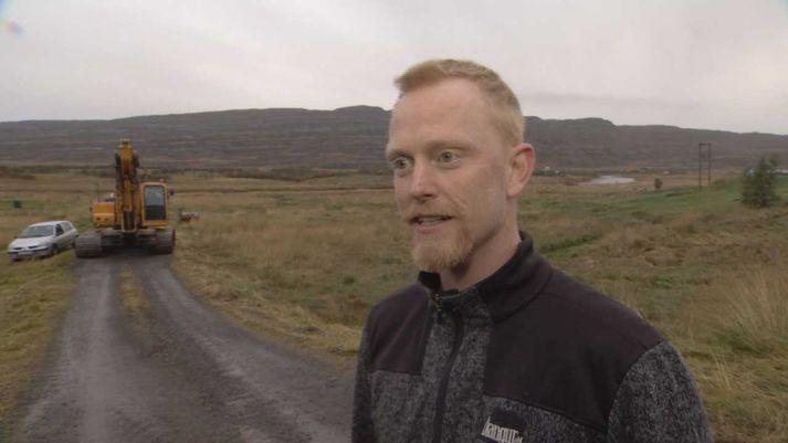 Finnur Ólafsson frá Svanshóli, oddviti Kaldrananeshrepps.