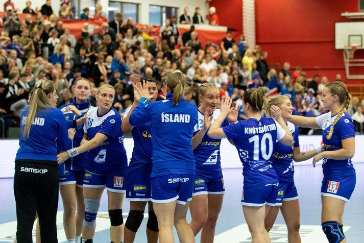 Ísland mætir Færeyjum á Ásvöllum 23. og 24. nóvember.