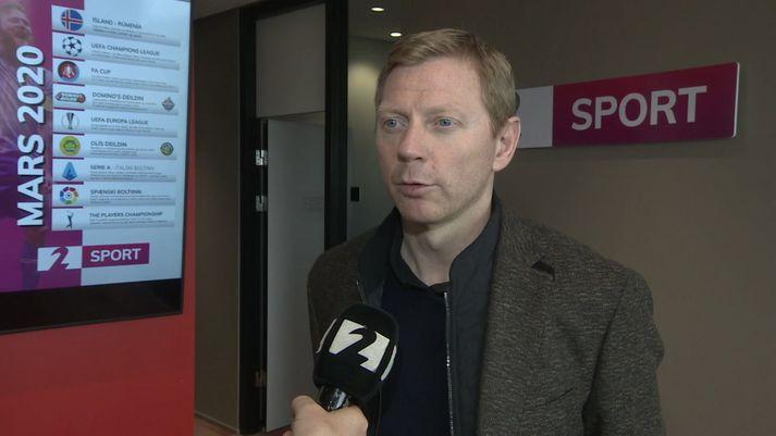 Brynjar Björn Gunnarsson er þjálfari HK.