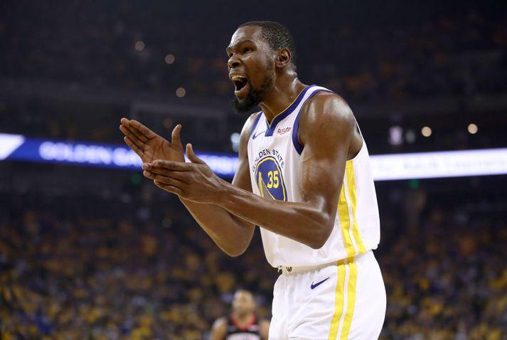 Golden State mun sakna Durant.