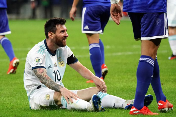 Messi og félagar eru í vondum málum