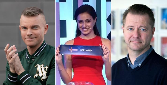 Páll Óskar og Skarphéðinn ræddu þátttöku Íslands í Eurovision sem fram fer í Ísrael í maí.