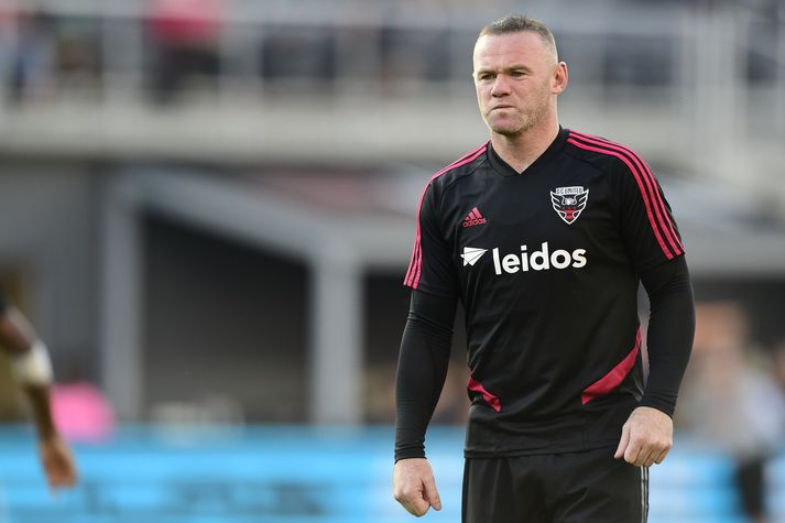 Wayne Rooney í leik með DC United.