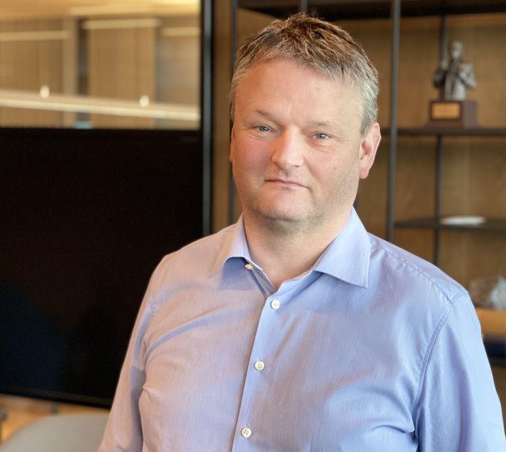 Ásgrímur Helgi Einarsson, formaður knattspyrnudeildar Fram.