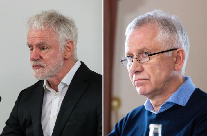 Kári Stefánsson og Þórólfur Guðnason.
