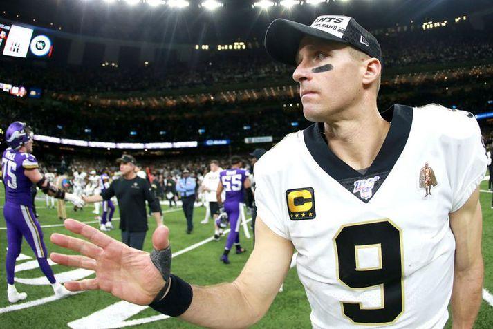 Drew Brees hefur gert frábæra hluti fyrir lið New Orleans Saints og magnaða hluti fyrir allt samfélagið í New Orleans líka.