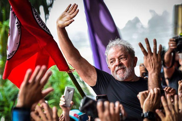 Lula var forseti Brasilíu á árunum 2003 til 2010.