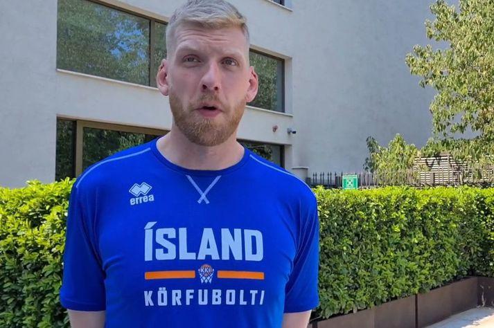 Ragnar Ágúst Nathanaelsson verður leikfær í kvöld þrátt fyrir veikindi síðustu daga.