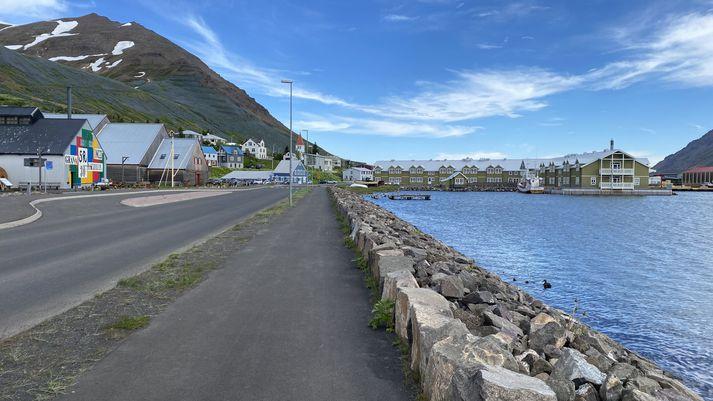 Frá Siglufirði í dag