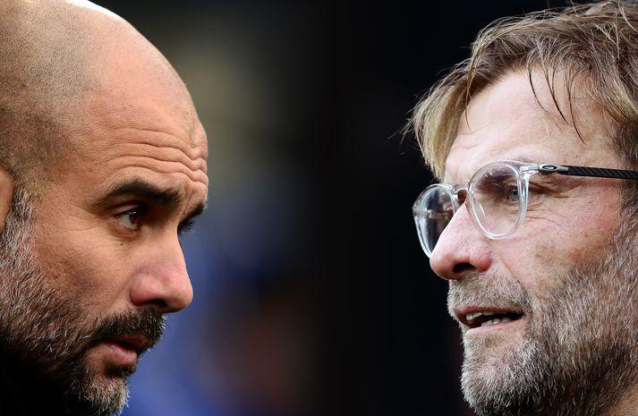 Leikur Manchester City og Liverpool verður mikilvægur á komandi leiktíð.