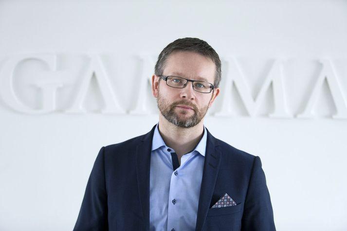 Valdimar Ármann, forstjóri Gamma Capital Management.