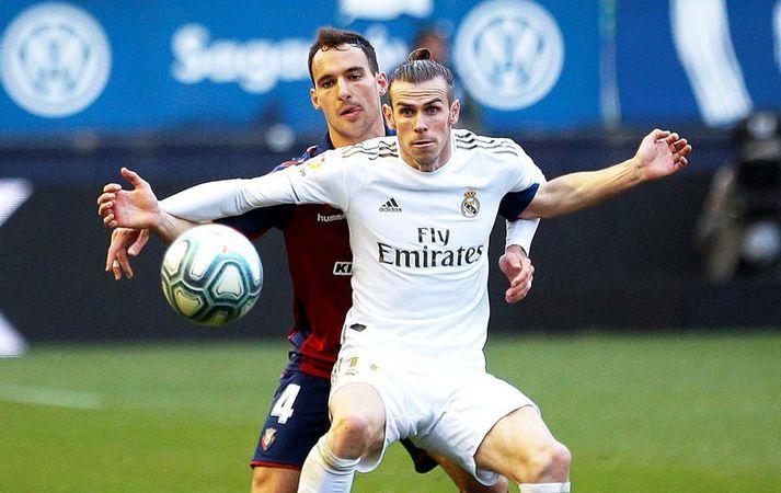 Gareth Bale er sagður kunna afar vel við sig í Madrid.