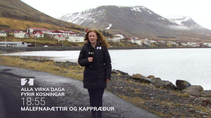Fréttastofa heimsótti meðal annars Patreksfjörð á ferð sinni um landið. Þátturinn í kvöld fjallar um ferðamennsku.