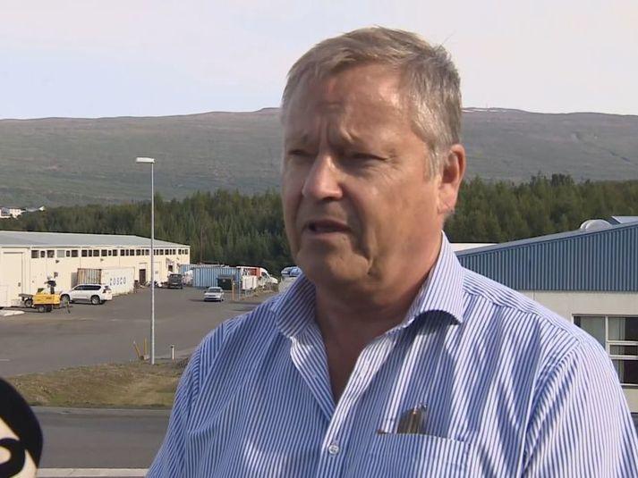 Björn Ingimarsson, starosta okręgu Múlaþings.