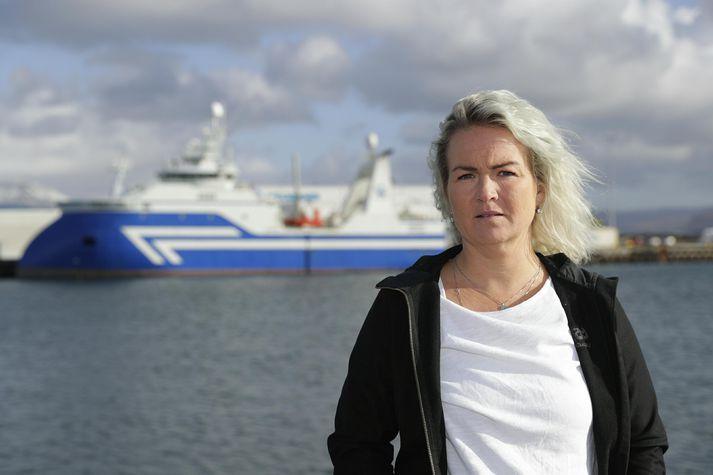 Heiðveig María Einarsdóttir ætlar að fara gegn sitjandi forystu í Sjómannafélagi Íslands.
