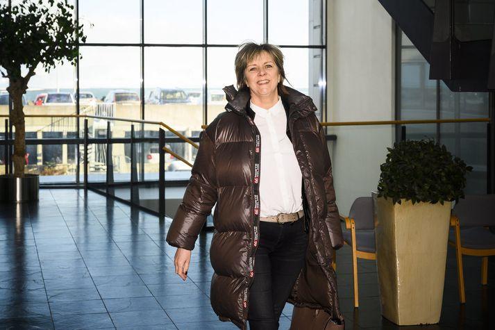 Bryndís Hlöðversdóttir ríkissáttasemjari.