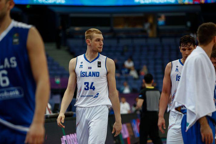 Tryggvi Snær Hlinason gæti spilað í NBA-deildinni næsta vetur.