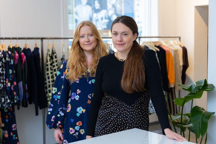 Eva Katrín Baldursdóttir og Steinunn Hrólfsdóttir eigendur Andrá Reykjavík.