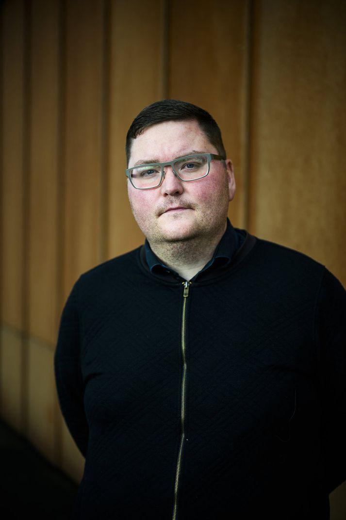 Sævar Reykjalín, formaður foreldrafélags Kelduskóla