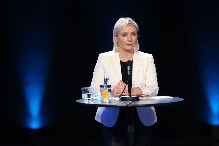 Lilja Alfreðsdóttir, menntamálaráðherra.