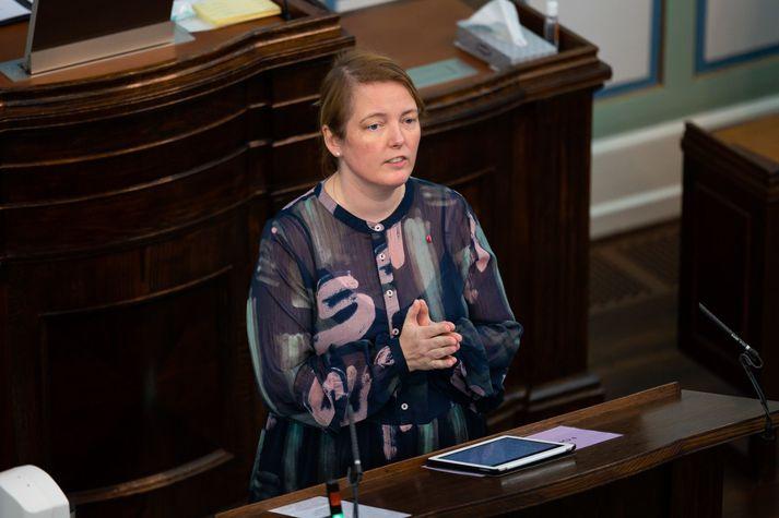 Albertína Friðbjörg Elíasdóttir, þingmaður Samfylkingar.