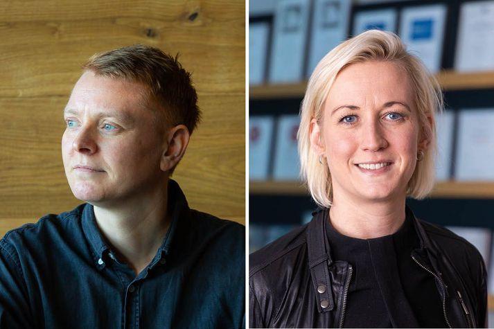 Sóley Kristjánsdóttir og Marta Gall Jörgensen sérfræðingar hjá Gallup.