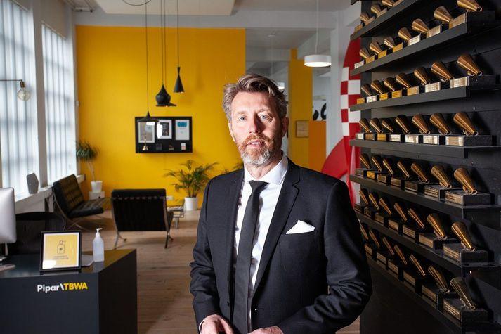 Valgeir Magnússon, stjórnarformaður Pipar/TBWA.