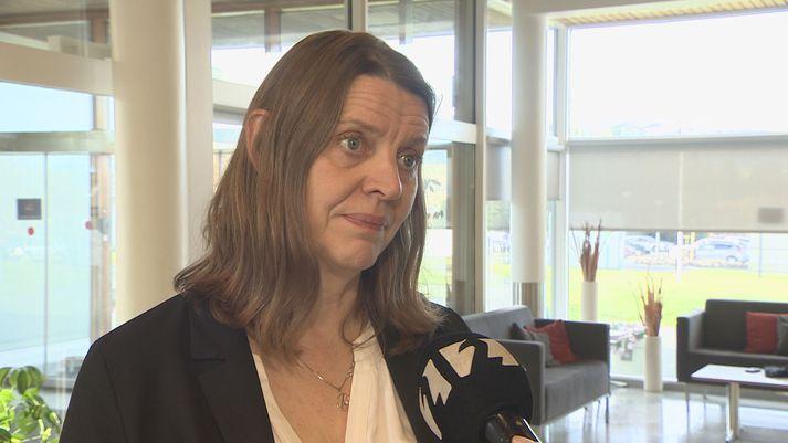 Magdalena Ásgeirsdóttir, yfirlæknir á Reykjalundi.