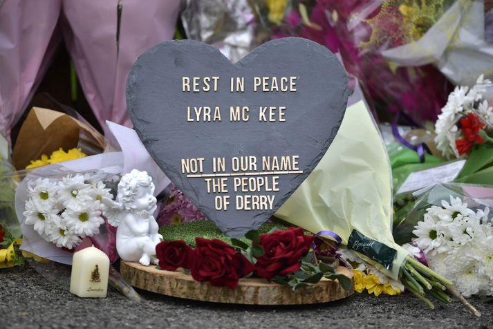 Lyra McKee var aðeins 29 ára þegar hún lést.