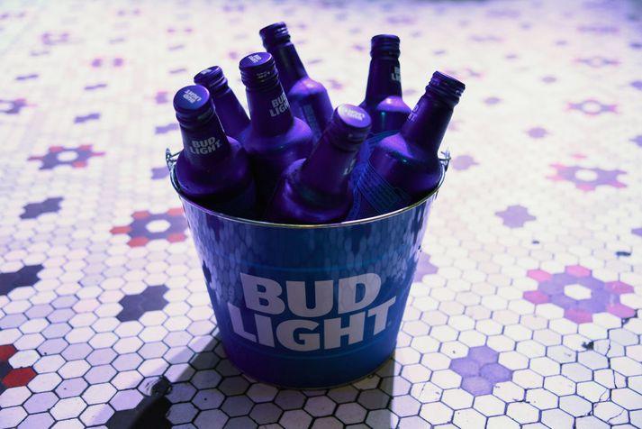 Bud Light er með rúmlega 15 prósenta markaðshlutdeild á bandaríska bjórmarkaðnum.