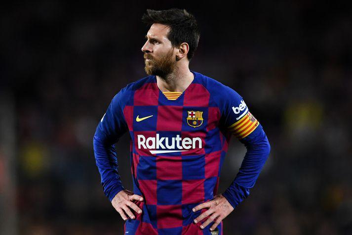 Lionel Messi var ekki ánægður með orð íþróttastjórans.
