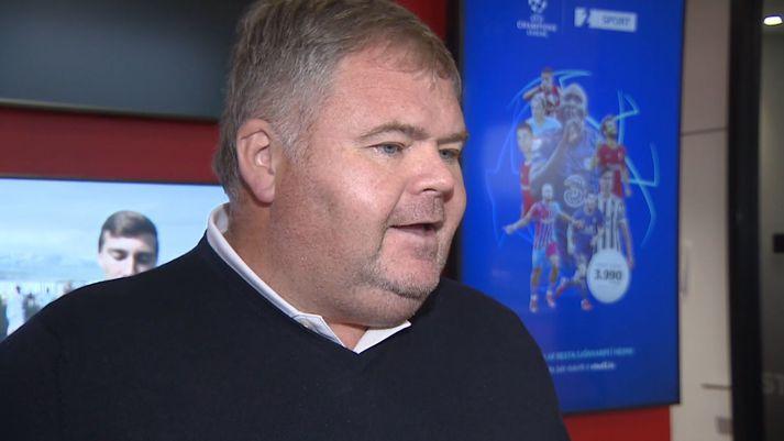 Þorsteinn Hallgrímsson fór yfir það sem framundan er á Ryder Cup sem fram fer um helgina.