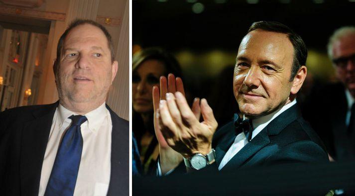 Harvey Weinstein og Kevin Spacey hafa verið sakaður um kynferðislega áreitni og/eða ofbeldi.