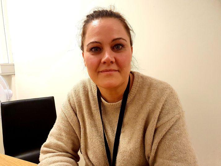 Margrét Björk Ólafsdóttir, hjúkrunarstjóri á heilsugæslustöð Selfoss, sem stýrir vinnunni við bólusetningarnar.