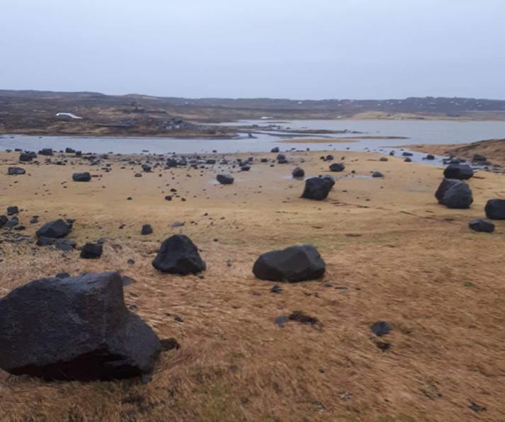 Hnullungar svo langt sem augað eygir á vellinum í dag.