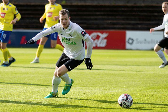 Björn Daníel Sverrisson fann ekki taktinn með FH á síðasta tímabili.