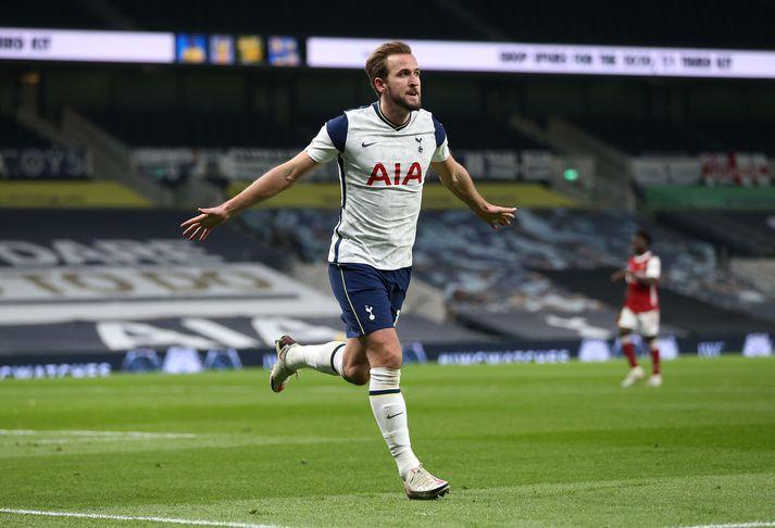 Harry Kane er einn markahæsti leikmaður í sögu Tottenham.