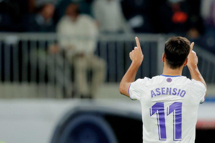 Marco Asensio átti stórleik í kvöld.