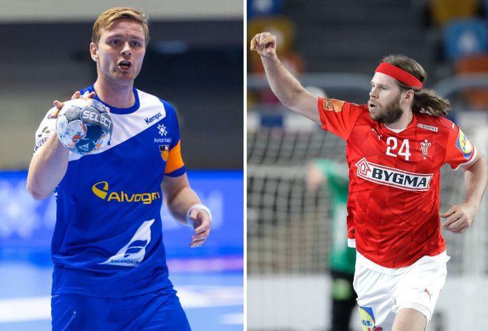Aron Pálmarsson og Mikkel Hansen verða samherjar hjá Álaborg frá og með sumrinu 2022.