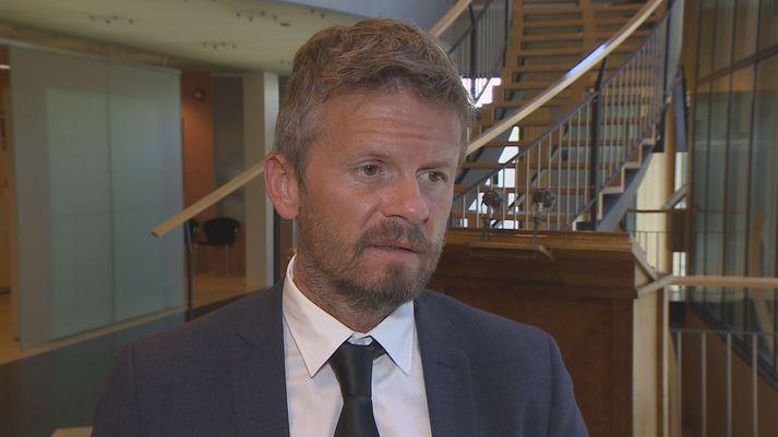 Ágúst Ólafur Ágústsson, þingmaður Samfylkingarinnar og nefndarmaður í fjárlaganefnd.