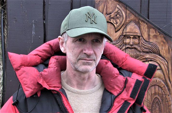 Jón Kaldal, sem er talsmaður Icelandic Wildlife Fund.