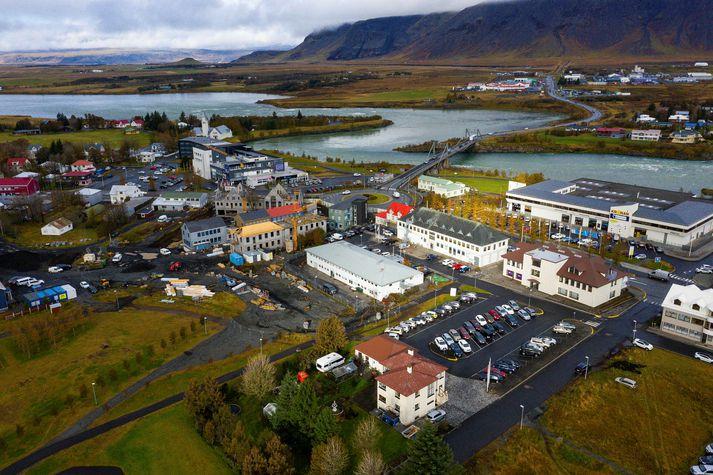 Nýr miðbær á Selfossi