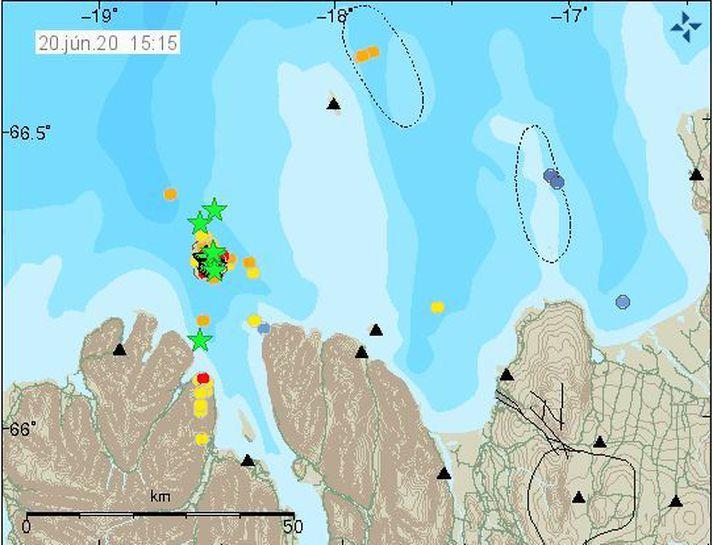 W czasie ostatnich 24 godzin, na północy kraju zarejestrowano wiele silnych trzęsień ziemi.