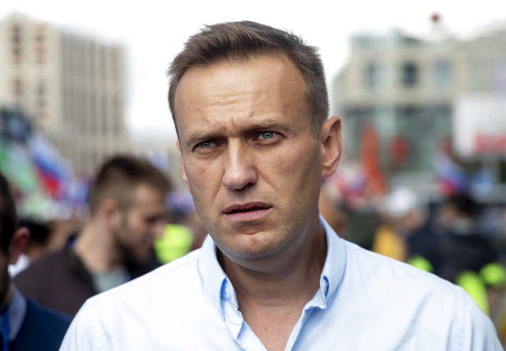 Navalní hefur ítrekað verið handtekinn fyrir að skipuleggja og hvetja til mótmæla gegn stjórnvöldum.